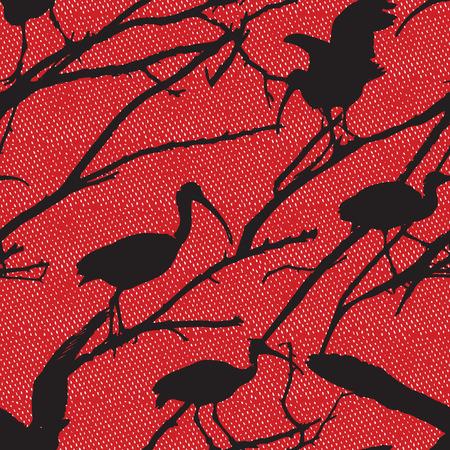 motif pattern: Ibis Motif Pattern