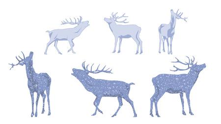 Christmas Decoration Deer Set