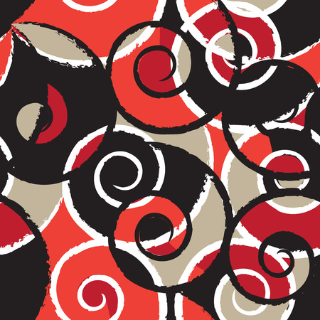 abstract shape: Abstract Decorative Repeating Pattern