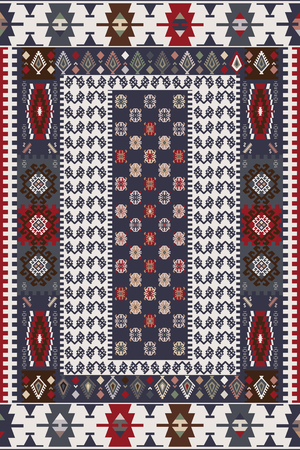 kilim: Design For Oriental Style Rug
