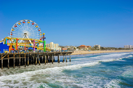 monica: Santa Monica Pier