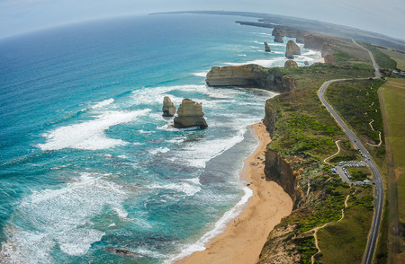 The Twelve Apostles & Great Ocean Road, Australia Zdjęcie Seryjne