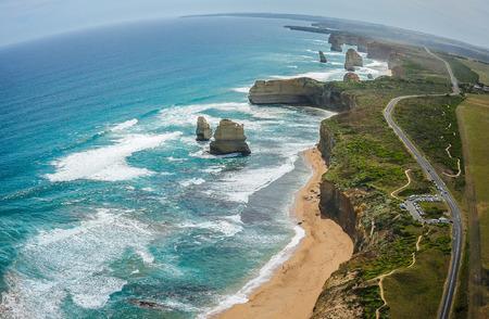 The Twelve Apostles & Great Ocean Road, Australia Stock Photo