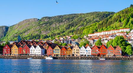 Bergen, Norway Reklamní fotografie - 80054943