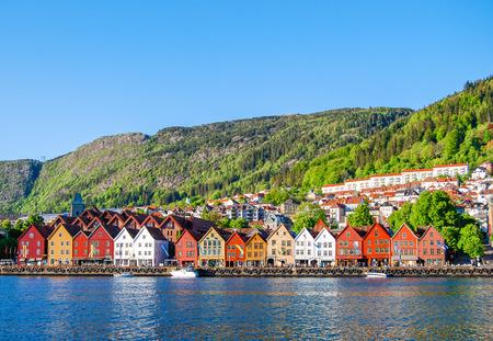 Bergen, Norway Reklamní fotografie - 80064459