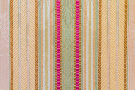 a very retro textile texture mostly used on furniture like chairs Stock Photo