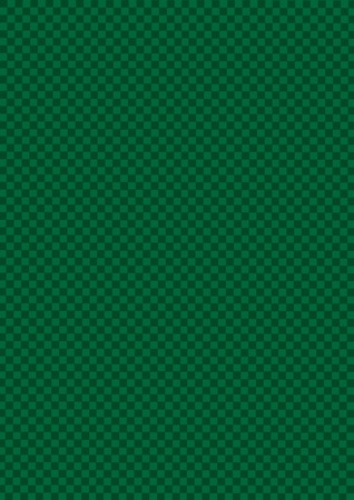 Green and light Drak Green checkered pattern. Dark checkered abstract pattern for background.