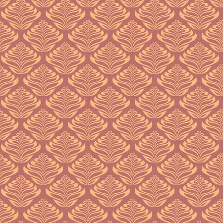 Quirky Leaf Inspired Seamless Pattern