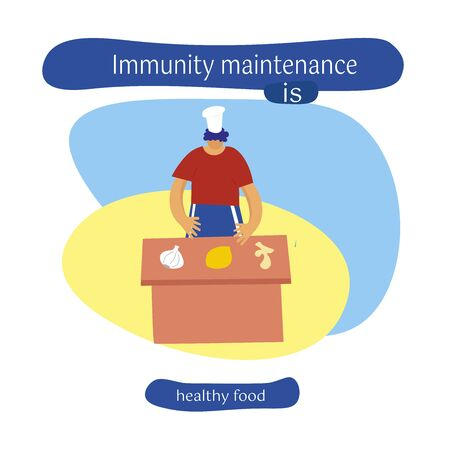 maintaining immunity. Influenza virus, coronavirus, precautions, sanitary habits. Disinfection of premises. Vectronic isolated illustration.