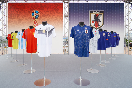 Japan national team and other national teams. In the 2018 World Cup, which is held in Russia. The Japanese national team is called Samurai Blue