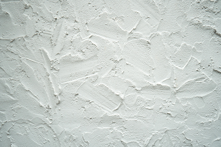 The wall is made of brick and then painted in white. This wall is popular in English style. Also known as a vintage style. as background with copy space. Stock Photo