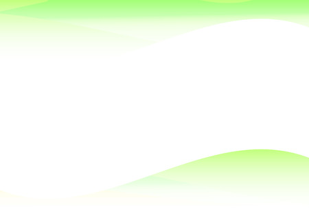 Background Abstract green curve waves. data stream concept. Vector illustration
