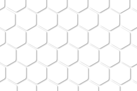 Digital art illustrator background. Hexagon shape, white, shiny black.background ideas for your design banners , book, Website work, stripes, tiles, background texture wall with copy spaces.