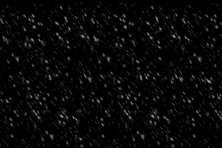 Digital art Snow floating on the air on a black background Used for overlapping images for decoration