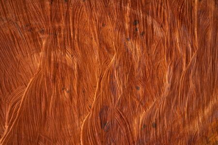The core of the wood that has been cut inwardly The wood texture is dark reddish brown. Popular as a home use with copy space.