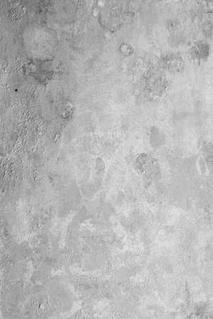 Loft-style plaster walls, gray, white, empty space used as wallpaper. Popular in home design or interior design. with copy spaces.