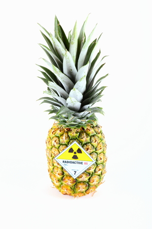 irradiated: Radioactive pineapple