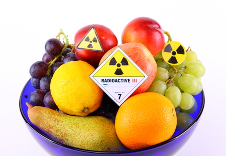 irradiated: Radioactive fruit