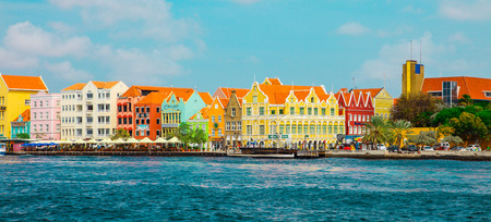 gable house: Willemstad, Curasao - Island in the southern Caribbean Editorial