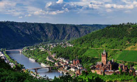 town idyll: Cochem on the Moselle in Germany Editorial