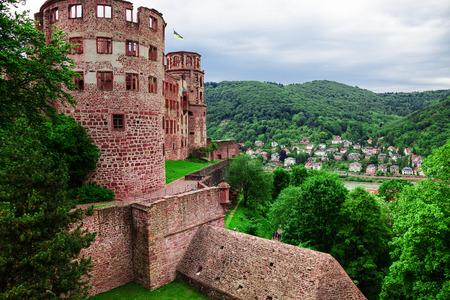 ruin: Castle ruin in Heidelberg