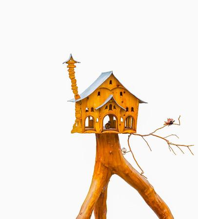 noble: Noble Birdhouse isolated