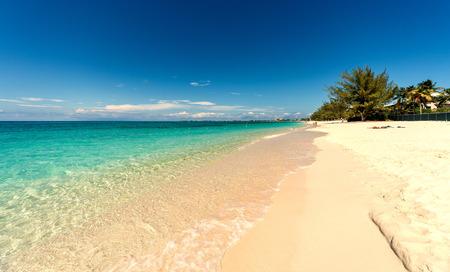 Seven miles beach on Grand Cayman
