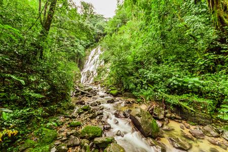 Chorro el Macho, a waterfall in El Valle de Anton, Panama Stock Photo