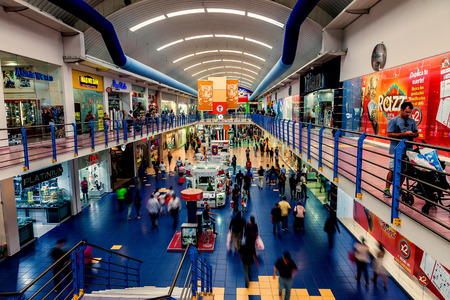 Panama City, Panama - November 08, 2016: The Albrook Mall in Panama City is the largest shopping center in the city. Editorial