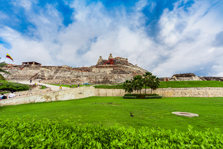 The Castillo San Felipe de Barajas is a fortress in the city of Cartagena, Colombia.