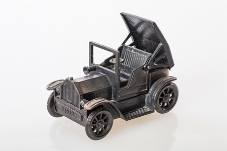 Close - up of an oldtimer model - Focus stacking