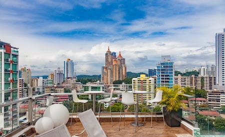 View over Panama City Stock Photo
