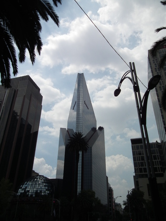 Buildings of the city of mexico - cdmx