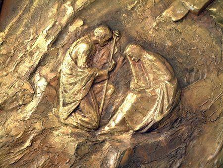 nacimiento de jesus: Natividad  Foto de archivo