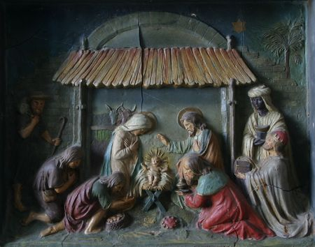 christ the king: Nativity Scene