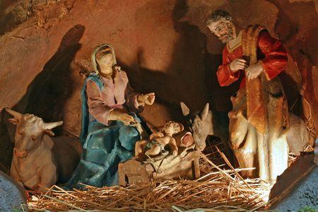 Nativity scene Stock Photo - 5780391
