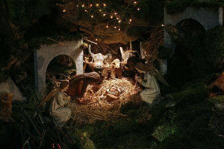 baby jesus: Nativity Scene