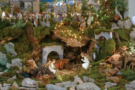 Nativity Scene photo