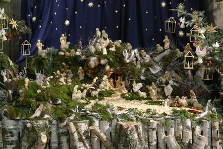 Nativity Scene Stock Photo - 5787145