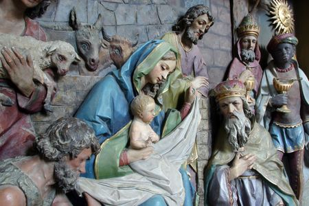 christmas religious: Nativity Scene