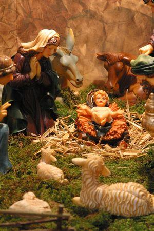 guarder�a: Escena de la Natividad
