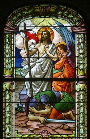 religiosity: Risen Christ