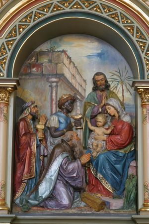 pesebre: Escena de la Natividad