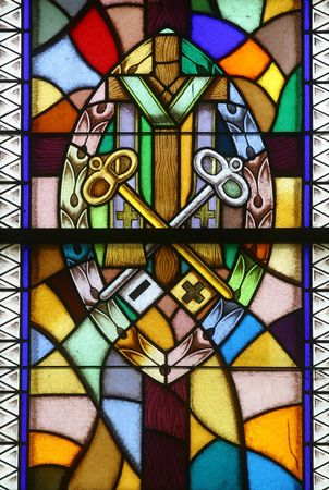 love confession: Confirmation, Seven Sacraments, Stained glass