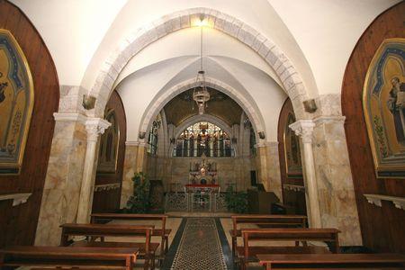flagellation: Jerusalem-Franciscan Chapel of the Flagellation