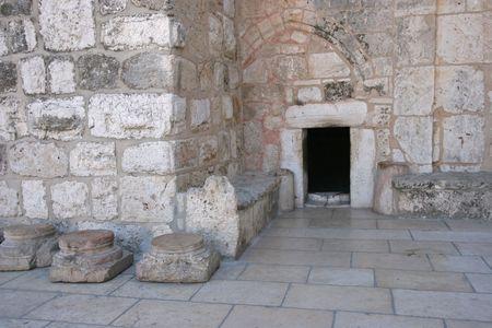 Bethlehem Basilica of the Nativity, Entrance photo