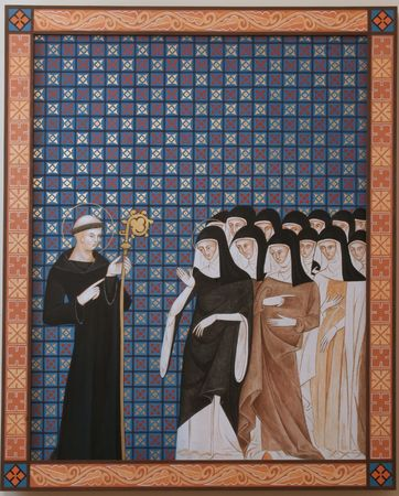 Saint Benedict of Nursia Stock Photo - 6002005