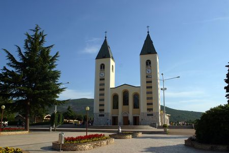 balkan: Medugorje church