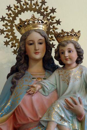 vaderlijk: Heilige Maagd Maria met het kindje Jezus