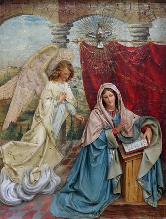 The Annunciation Stock Photo - 6088881